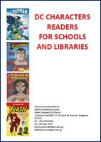 DC Comic Characters Readers